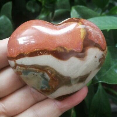 163.3g Natural Energy Stone Sea Stone Ancient Rock Specimen Heart-shaped