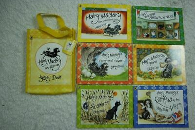 Hairy Maclary And Friends Book Bag by Lynley Dodd X6 picture books 2007 NEW