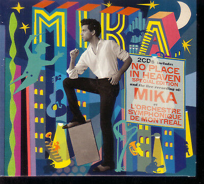 Cd *** Mika - No Place In Heaven *** Special Edition - 2 Cd