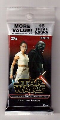 2019 Topps Journey To Star Wars The Rise Of Skywalker 1/1 Printing Plate Pack