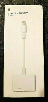 Genuine Apple Lightning to HDMI Adapter For iPhone & iPad MD826AM/A - Brand New!