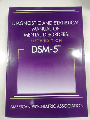 DSM-5 Diagnostic and Statistical Manual of Mental Disorders *Like New* Softcover