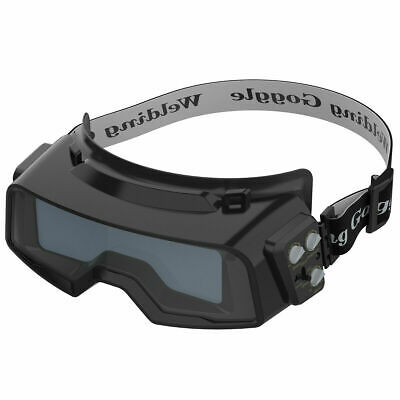 Battery Powered  True Color Auto Darkening Welding Goggles for WELD/ CUT/ Grind
