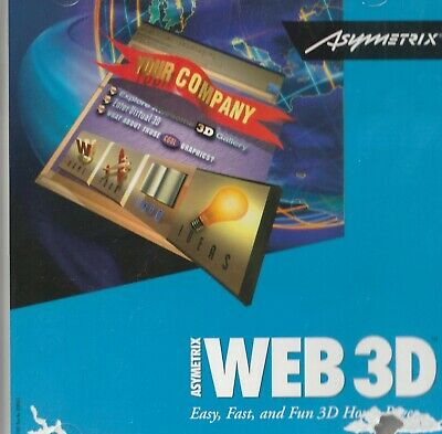 Classic Pc Software - Asymetrix - WEB 3D - Easy, Fast & Fun