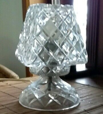 Vintage Crystal Lamp. excellent condition.