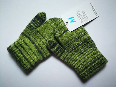 Mongolia Pure Cashmere Gloves Mittens for Ages 4-7 Kids Children - A1