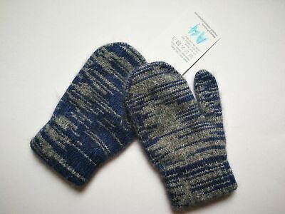 Mongolia Pure Cashmere Gloves Mittens for Ages 4-7 Kids Children - A4