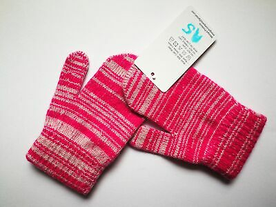 Mongolia Pure Cashmere Gloves Mittens for Ages 4-7 Kids Children - A5