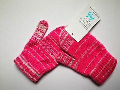 Mongolia Pure Cashmere Gloves Mittens for Ages 4-7 Kids Children - A6