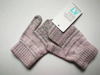 Mongolia Pure Cashmere Gloves Mittens for Ages 4-7 Kids Children - A7