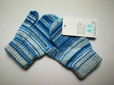 Mongolia Pure Cashmere Gloves Mittens for Ages 4-7 Kids Children - A8