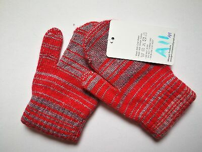 Mongolia Pure Cashmere Gloves Mittens for Ages 4-7 Kids Children - A11