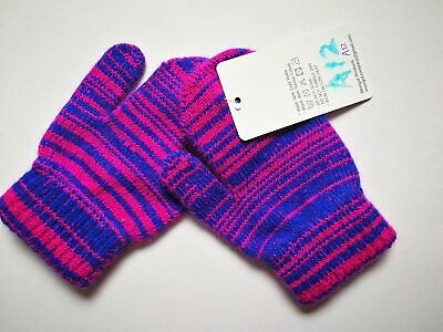 Mongolia Pure Cashmere Gloves Mittens for Ages 4-7 Kids Children - A12