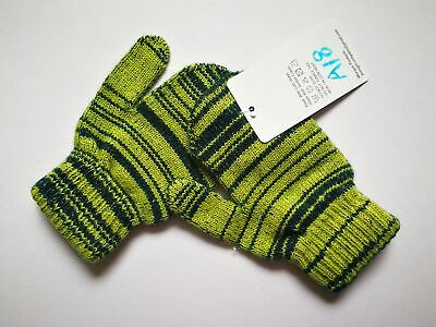Mongolia Pure Cashmere Gloves Mittens for Ages 4-7 Kids Children - A18