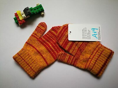Mongolia Pure Cashmere Gloves Mittens for Ages 4-7 Kids Children - A19