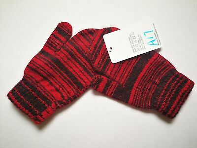 Mongolia Pure Cashmere Gloves Mittens for Ages 4-7 Kids Children - A17