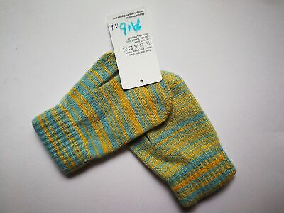 Mongolia Pure Cashmere Gloves Mittens for Ages 4-7 Kids Children - A16