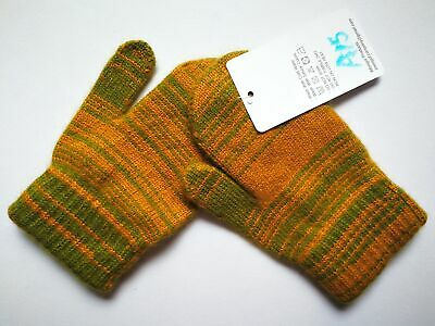Mongolia Pure Cashmere Gloves Mittens for Ages 4-7 Kids Children - A15