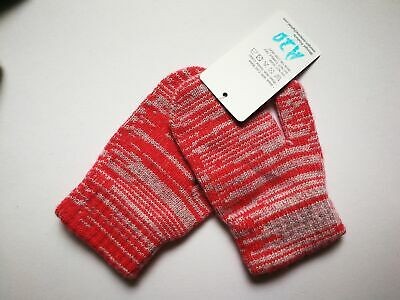 Mongolia Pure Cashmere Gloves Mittens for Ages 4-7 Kids Children - A20