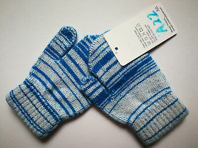 Mongolia Pure Cashmere Gloves Mittens for Ages 4-7 Kids Children - A22
