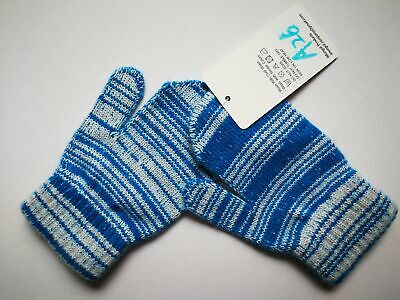 Mongolia Pure Cashmere Gloves Mittens for Ages 4-7 Kids Children - A26