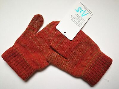 Mongolia Pure Cashmere Gloves Mittens for Ages 4-7 Kids Children - A25
