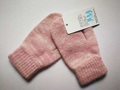 Mongolia Pure Cashmere Gloves Mittens for Ages 4-7 Kids Children - A33