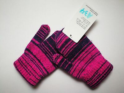 Mongolia Pure Cashmere Gloves Mittens for Ages 4-7 Kids Children - A34