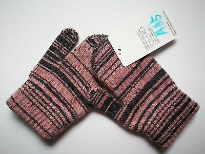 Mongolia Pure Cashmere Gloves Mittens for Ages 4-7 Kids Children - A35