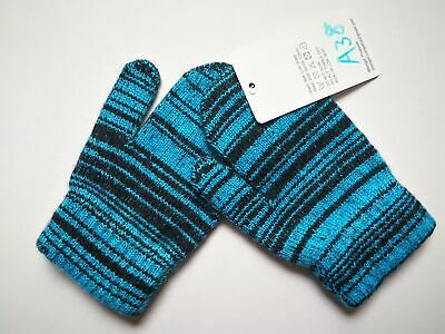 Mongolia Pure Cashmere Gloves Mittens for Ages 4-7 Kids Children - A38