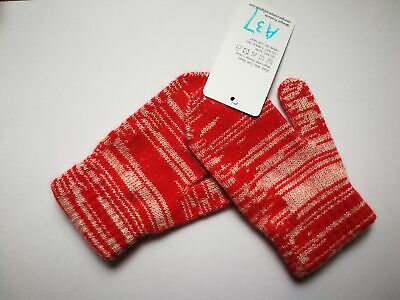 Mongolia Pure Cashmere Gloves Mittens for Ages 4-7 Kids Children - A37