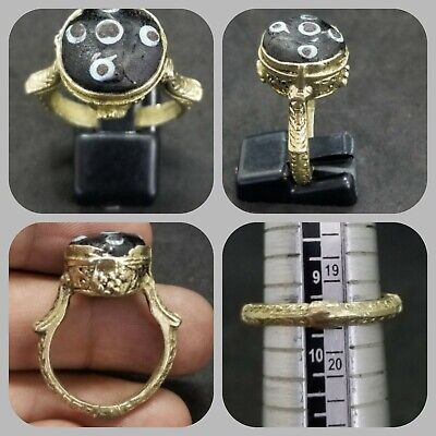 Gold gulding beautiful ring with mosaic eye stone lovely ring
