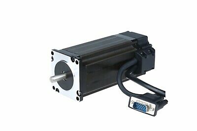 Closed Loop NEMA23 Stepper Motor 4A 425 oz.in Encoder 3m cable&Servo Driver CNC