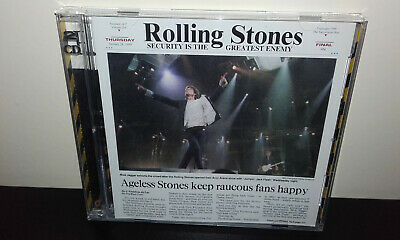 The ROLLING STONES : Security Is The Greatest Enemy (Japan 2CD) Live Sacramento