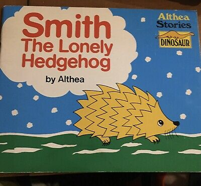 Vintage Rare Smith The Lonely Hedgehog By Althea Dinosaur 1981