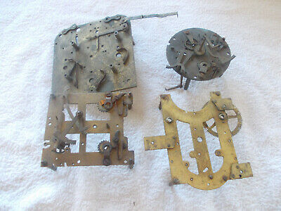Four Mixed Used Clock Plates