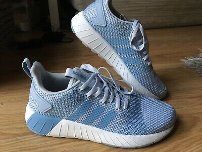 Adidas Cloudfoam Original Questar Byd Running Shoes Sneakers Size 5 1/2 Blue