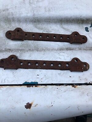 Old Cast Iron Sink Wall Brackets Lot Of 2