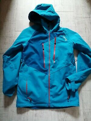 REGATTA Men's WATER Resistant BREATHABLE Jacket SMALL Isotex STRETCH 15000 BLUE