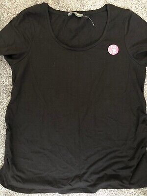 Mothercare Blooming Marvelous Maternity Black T-shirt XL BNWOT
