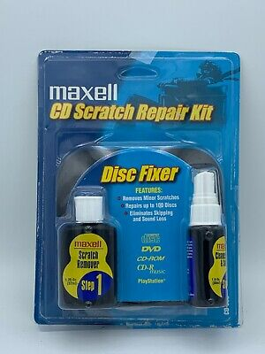 Maxell Disc Scratch Repair Kit, CD-335, Disc Fixer, NEW