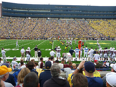 University of Michigan Wolverines vs. Notre Dame Football Tickets (2)