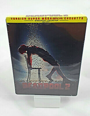Deadpool 2 Steelbook Edition Limitée Blu-ray Nouvelle Version