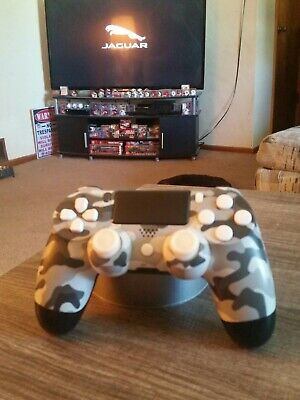 Sony playstation 4 dualshock wireless controller  gray camouflage controller
