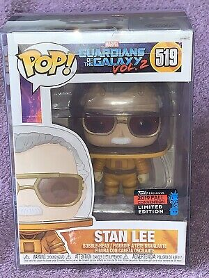 FUNKO POP Guardians Of The Galaxy 2 STAN LEE ASTRONAUT NYCC Exclusive 2019 WM
