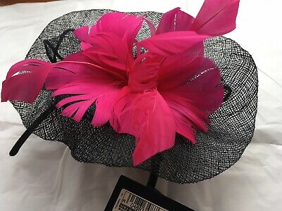 M A Collection Fascinator Pink Mix BNWT RRP £29.50 Really Stylish