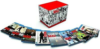 Mad Men The Complete Collection Seasons 1-7 (22 Disc) Blu-ray Set, New & Sealed