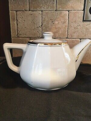 """ALPICO LIMOGES CHAMART FRANCE SMALL TEAPOT 5/"""" HEIGHT"""