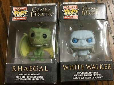 Funko Pop! Game of Thrones White Walker and Rhaegal