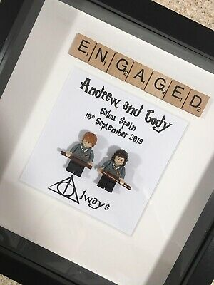 Made to Order Picture Frame Lego Harry Potter Lego Minifigure Birthday Christmas